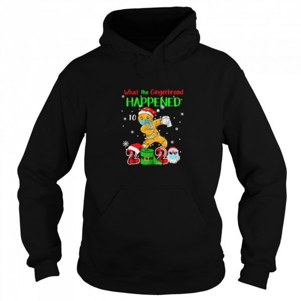 What The Gingerbread Happened To 2020 Gingerbread Face Mask  Unisex Hoodie