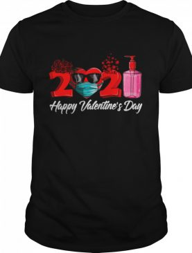 2021 Face Mask Happy Valentines Day shirt