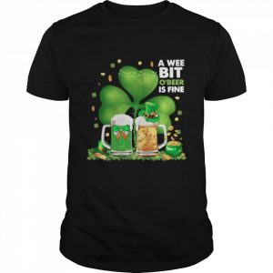 A Wee Bit Obeer Is Fine Lucky 2021  Classic Men's T-shirt
