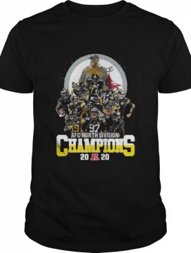 AFC North Division Champions Pittsburgh Steelers Signatures shirt