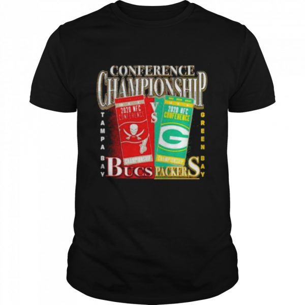 Green Bay Packers vs Tampa Bay Buccaneers 2020 NFC Conference Championship Matchup  Classic Men's T-shirt