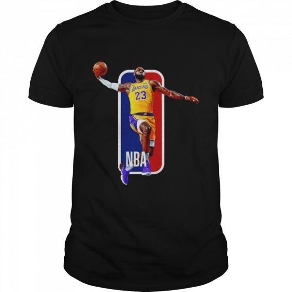 Los Angeles Lakers 23 Lebron James Nba  Classic Men's T-shirt