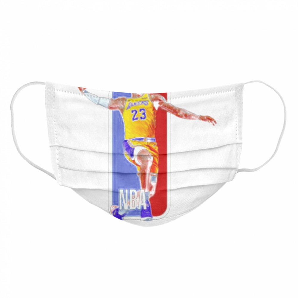 Los Angeles Lakers 23 Lebron James Nba  Cloth Face Mask