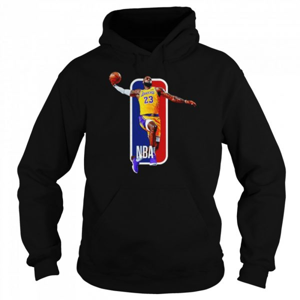 Los Angeles Lakers 23 Lebron James Nba  Unisex Hoodie