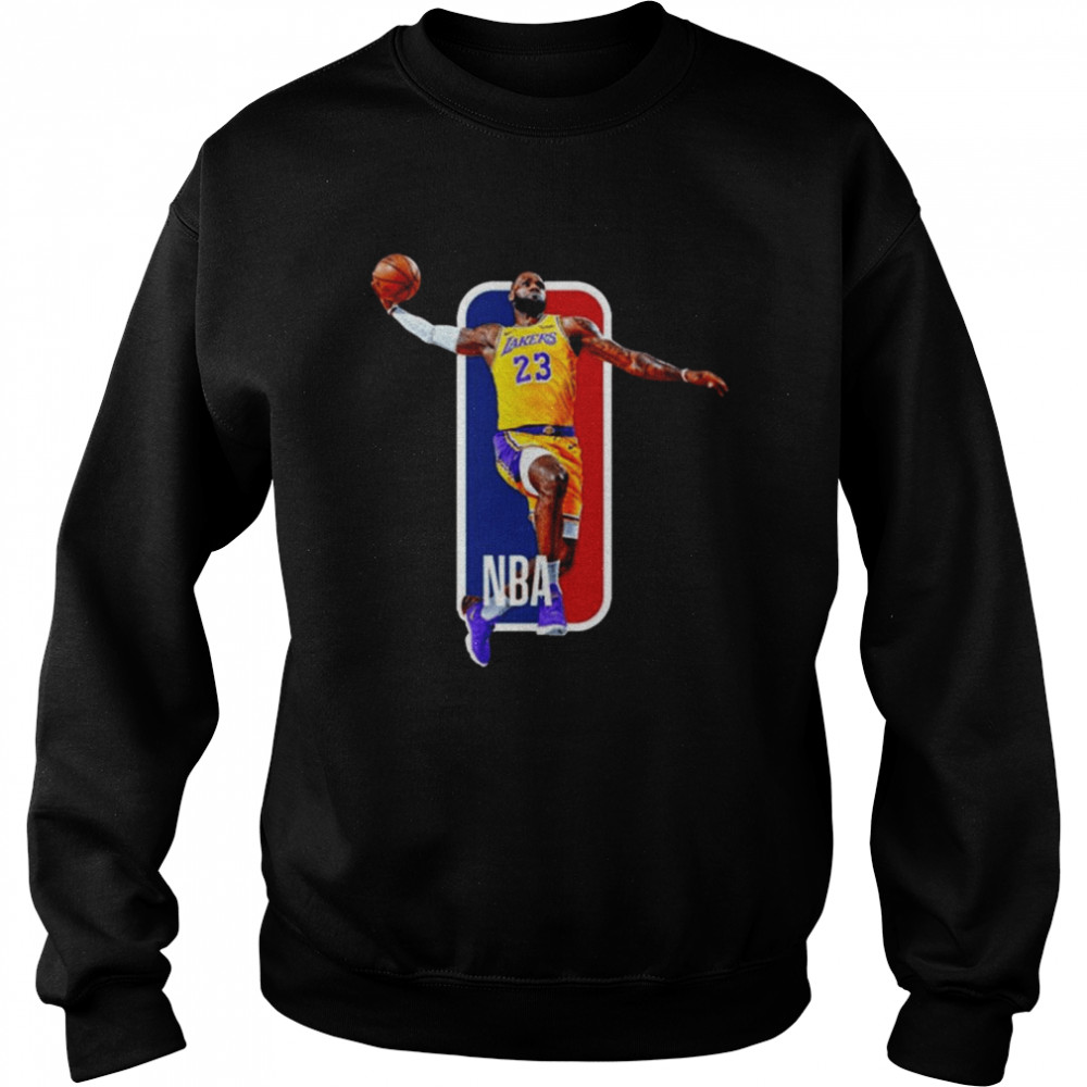Los Angeles Lakers 23 Lebron James Nba  Unisex Sweatshirt