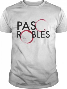 Paso Robles Wine Stain shirt