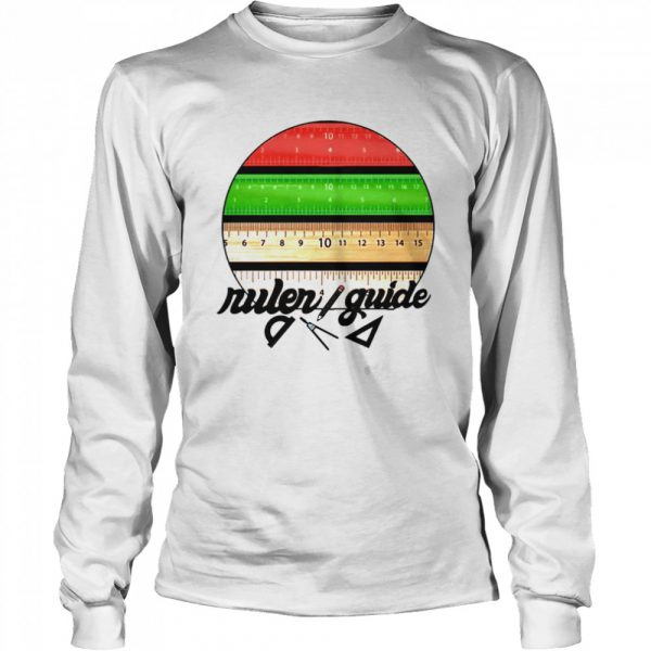 Ruler Guide Pen Par DaliaAli  Long Sleeved T-shirt