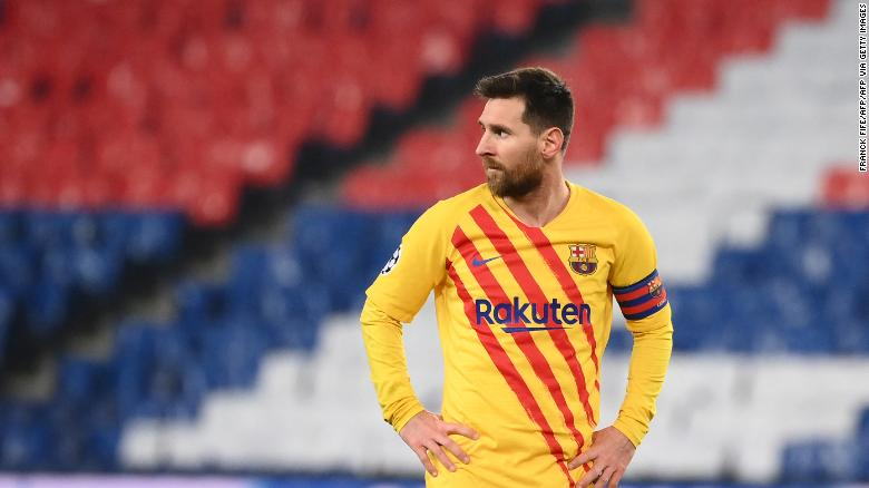 Lionel Messi scores 'special' goal but misses penalty as Barcelona crashes out of the Champions League