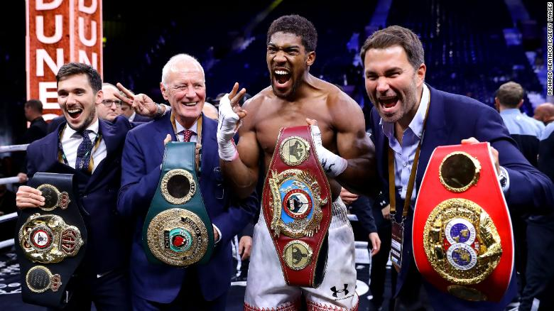 Eddie Hearn: 'The razzmatazz is important' says boxing promoter