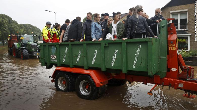 1300 people assumed missing in one German district after deadly floods hit Western Europe