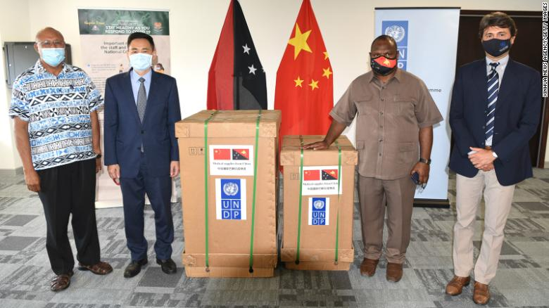 A Pacific islands Covid19 crisis has become a political power play between China and Australia