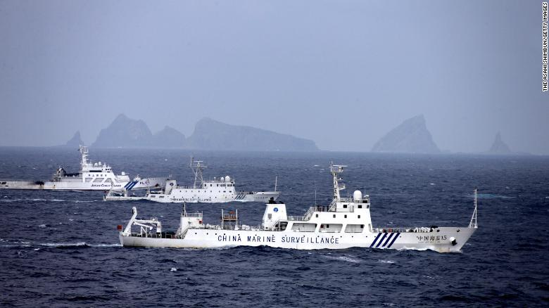 Japan's defense minister draws red line in island dispute with China