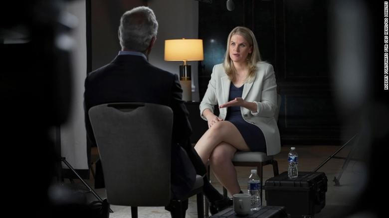 Facebook whistleblower revealed on '60 Minutes,' says the company prioritized profit over public good